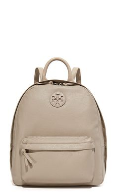 53bd5fafd62 Leather backpack by Tory Burch. Pebbled leather adds a sophisticated feel  to this roomy Tory