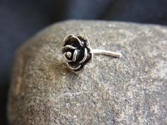 Rose Nose Ring
