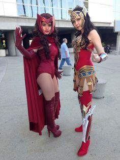 #Cosplay: Wonder Woman (#Regime) & Scarlet Witch - Comikaze 2013