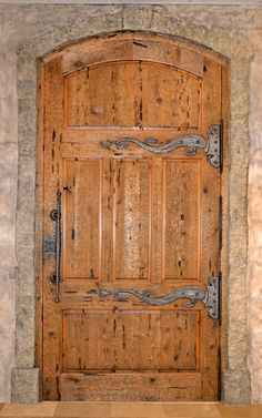 Custom Medieval Door and Hardware - CED422
