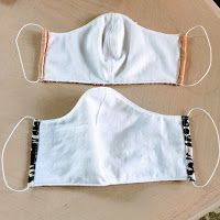How to Sew a Surgical Face Mask for Hospitals – Free Pattern Small Sewing Projects, Sewing Hacks, Sewing Tutorials, Sewing Patterns Free, Free Sewing, Free Pattern, Easy Face Masks, Diy Face Mask, Cat Fabric