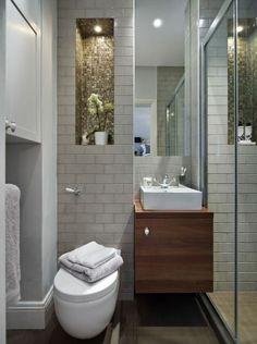 Comment aménager une salle de bain 4m2? | House interiors | Small ...