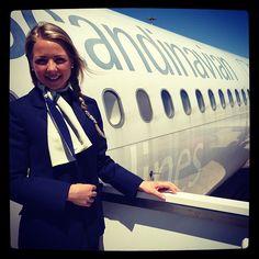 I Roma. Min første flyvning