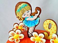 Natalia shaped gingerbread