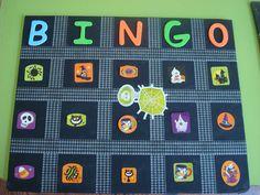 halloween bingo game - Free Printable Halloween Bingo Game Cards