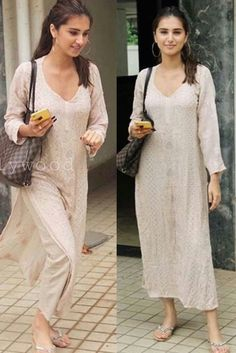 Ethnic Outfits, Indian Outfits, Casual Outfits, Casual Indian Fashion, India Fashion, Dress Indian Style, Indian Designer Suits, Kurta Designs Women, Kurti Designs Party Wear