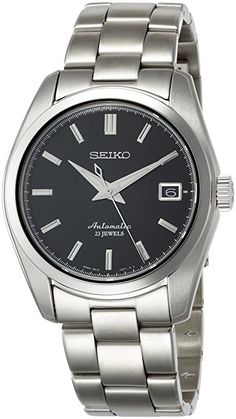 Amazon.com: Seiko Men's ' Japanese Automatic Stainless Steel Casual Watch, Color:Silver-Toned (Model: SARB033): Watches