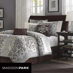 Madison Park Carrington 7-piece King/Cal-King Comforter Set
