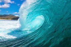 Welle, Wave - Fototapete, Wandbild