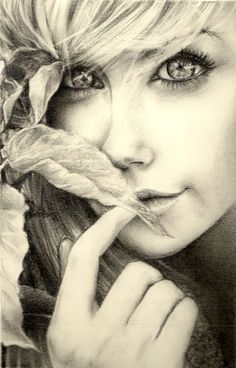 Pencil Portrait Mastery - This too. - Discover The Secrets Of Drawing Realistic Pencil Portraits Amazing Drawings, Beautiful Drawings, Cool Drawings, Drawing Sketches, Pencil Drawings, Amazing Art, Beautiful Eyes, Portrait Au Crayon, Pencil Portrait