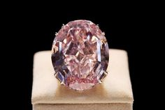 Pink Star Diamond- $83.2 million  Flawless pink colour diamond known as pink star mounted on a ring was sold at an auction in November 2013, for a tremendous amount of $83 million and is known as the world's most expensive jewelry item. Its current owner is Isaac wolf who has named this precious and valuable diamond as The Pink Dream.  The Pink Star diamond also formerly named as Steinmetz pink has a weight of 59.60 carats