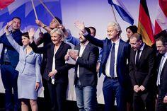 Eurosceptische politici komen zaterdag bij elkaar in de Duitse stad Koblenz. Onder meer PVV-leider Geert Wilders, Marine Le Pen van het Franse Front Nation - Nederland