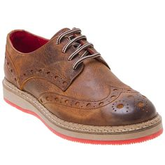 Buy Cognac Black Walker & Whyte Men's Kyle Oxford Shoe shoes