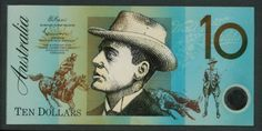 The original artwork for the design of Australia's $10 banknote is all the more compelling. The note was issued in 1993 and designed by Max Robinson who was also responsible for the design of the $5 and $100 polymer notes.     It illustrates in detail the challenges involved in reaching a harmonized resolution for a multi-layered image, and comprises sketches and drawings, collages, montages, mock-ups, overlays, photocopies, reproductions and finished artwork.