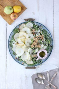 apple, fennel, celery, and toasted walnut #salad