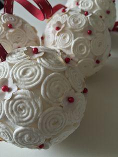 Vianoce Christmas balls Vianočné gule Handmade