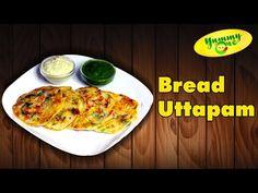 Bread Uttapam Easy and Friendly Snack Recipe