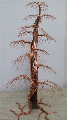 "Excellent ""metal tree artwork"" information is offered on our internet site. Have a look and you wont be sorry you did. Bonsai Tree Price, Bonsai Trees For Sale, Wire Art Sculpture, Tree Sculpture, Wire Sculptures, Sculpture Ideas, Metal Tree Wall Art, Metal Art, Ficus"