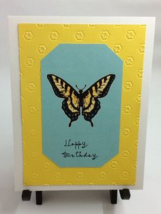 A personal favorite from my Etsy shop https://www.etsy.com/listing/495170004/happy-birthday-butterfly-card