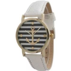 ⚓️Fashionable anchor watch Watch- battery included Accessories Watches
