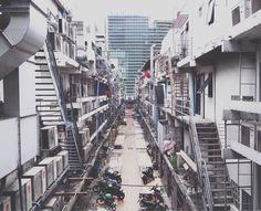 Bangkok's backyard #siamsquare #Bangkok #thailand #city #snapthai