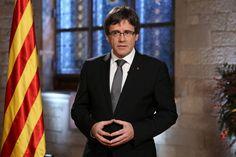 """Puigdemont: """"No hemos recibido respuesta a la mano tendida para pactar el referéndum con el Gobierno"""""""