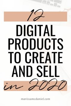 12 Digital Products to Create and Sell in 2020 - Make Money Ideas Make Money Fast, Make Money Blogging, Make Money From Home, Make Money Online, Things To Sell Online, Earn Money, Marketing Digital, Online Marketing, Content Marketing