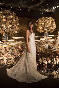 Fernanda e Frederico oficializaram a união com um casamento contemporâneo, na Casa Fasano, com assessoria de Babi Leite e bolo The King Cake.Ã'Â