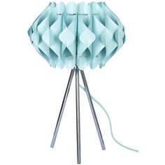 Taco Tripod Table Lamp ($43) ❤ liked on Polyvore featuring home, lighting, table lamps, standing lights, tripod table lamp, tripod lights, standing lamps and angle lamp