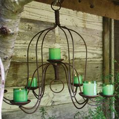 Outdoor Chandelier This Is Definitely Going In The Greenhouse Minus Beads Tucson Home Pinterest Chandeliers And