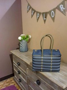 Allrecipes, Food Inspiration, Paper Crafts, Maya, Clutches, Baskets, Decor, Diy Clutch, Plastic Bags