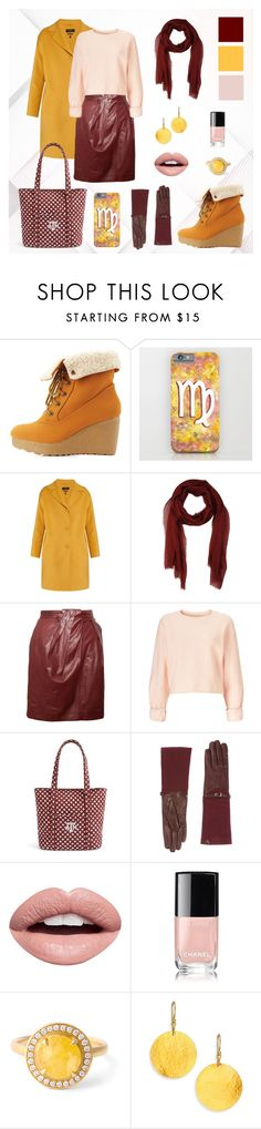 Maroon, Mustard & Blush woman winter outfit by @savousepate on @polyvore #red #burgundy #maroon #yellow #mustard #pink #blush #fall #autumn #winter