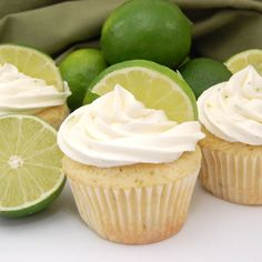 Margarita cupcakes with tequlia lime buttercream frosting... hmm. worth a shot!