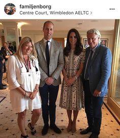 Great photo of the Duke & Duchess of Cambridge at #wimbledon via familjenborg's photo