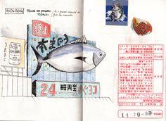 Japan Sketchbook | Tokyo 10 | Juliette Delpech