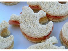 Ghost Sandwiches! Perfect for #Halloween!