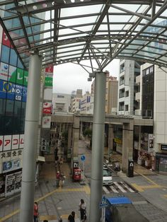 An approach  to Isetan department store.