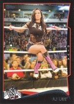 2014 Topps WWE Black #1 AJ Lee  NMint and ready to ship securely now!