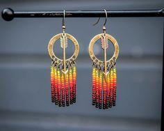 Girl on Fire Katniss Everdeen Hunger Games Catching Fire earrings