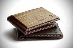 Wood Bifold Wallet by Slim Timber