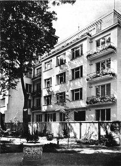 Jerzy Gelbard & Roman Sigalin, Dom rodziny Regulskich, Warsaw, 1937-38