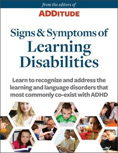 signs of adult learning disability