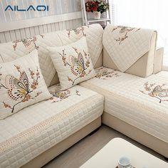 MYRU Modern Hot Sale Sofa Covers Slip-resistant Sofa Towel Sofa Slipcover Pattern Butterfly Covers for Sofa Best Sofa Covers, Diy Sofa Cover, Sofa Covers Online, Corner Sofa Covers, Sofa Cushion Covers, Cushions On Sofa, Pillows, Cover Pillow, Cushion Fabric