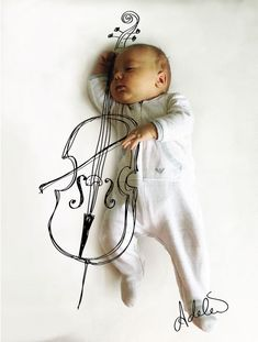 Mom Turns Her Baby's Napping Positions Into Art | Bored Panda