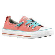 Converse All Star Shoreline Slip - Women's - Coral/Blue