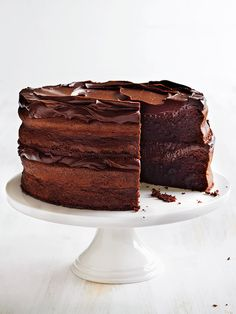 All you need to make this super impressive layer cake are a few simple ingredients and two boxes of my Flourless Chocolate Fudge Cake packet mix.