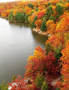 starved rock state park in the fall | Starved Rock: Fall colors at its best
