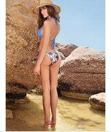 Meli Beach Swimwear Classic Side Tie Bottom Sea Cave