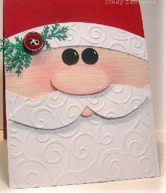 Rosto do Papai Noel