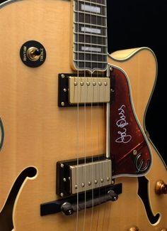 Epiphone Joe Pass Emperor II Hollowbody Electric Guitar - Natural - MIK   Reverb